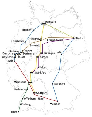 Bahnhofsmission Db Bahn Map on